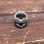 リアショック固定ナット(ブラック/シャンパンゴールド) RSKB-BSG