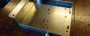 加工済み 電装プレート