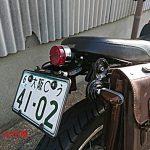 フェンダーレス カスタムシート用 FRK014M