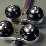 防振ラバーステー(8mmネジ用 ピッチ35mm) BRS-W