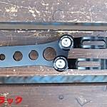 ライトステー ブラック SR400/500 ノーマルフォーク用(35mm)